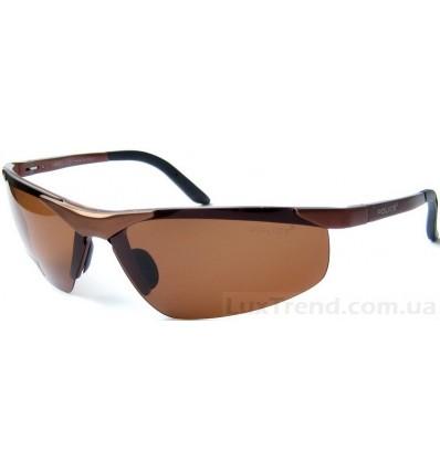 Солнцезащитные очки Police 6806 Aluminium коричневые