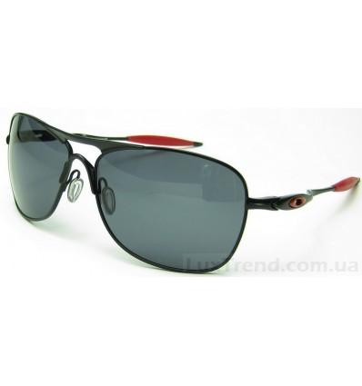 Солнцезащитные очки Oakley Crosshair 4060 черные с красным