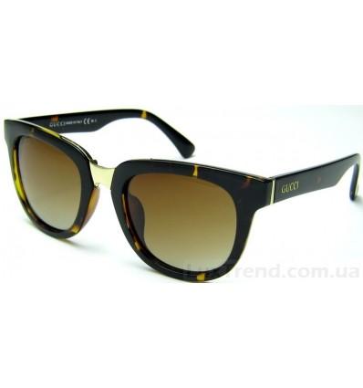 Солнцезащитные очки GUCCI 593 коричневые