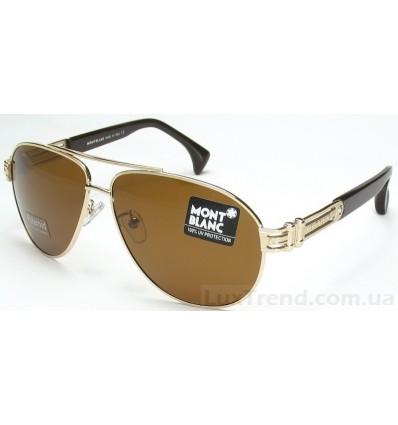 Солнцезащитные очки Mont Blanc 2955 золото