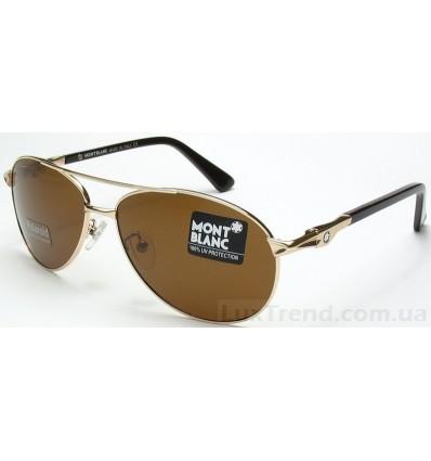 Солнцезащитные очки Mont Blanc 2956 золото
