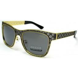 Солнцезащитные очки Gucci 5016 золото/черные