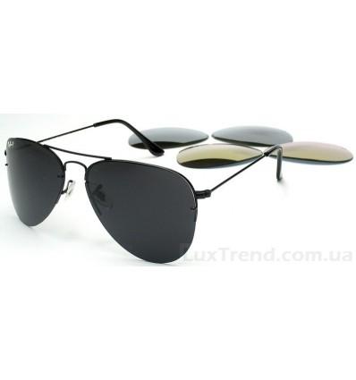 Солнцезащитные очки Ray-Ban 3460 черные