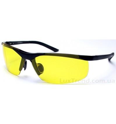 Очки для водителей 6806 Aluminium желтые