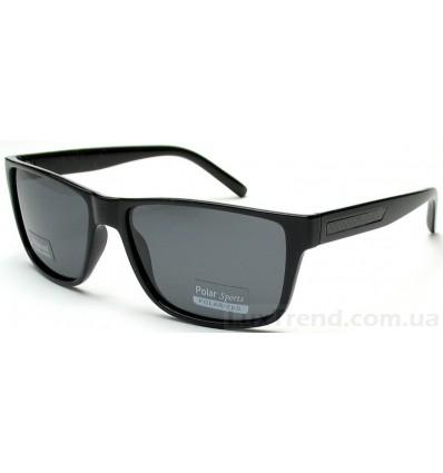 Солнцезащитные очки 6027 черные глянец