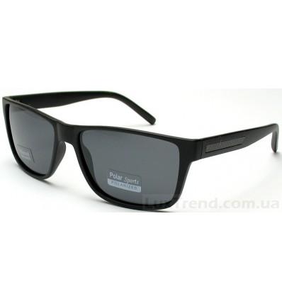 Солнцезащитные очки 6027 черные мат