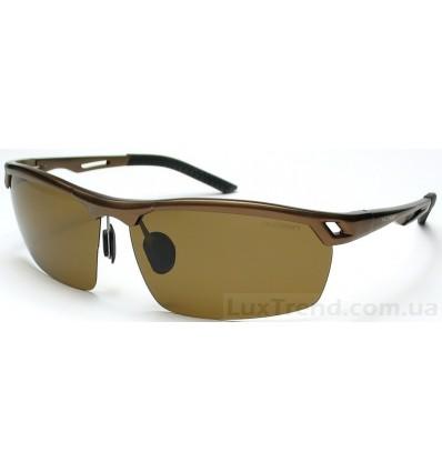 Солнцезащитные очки 8550 Aluminium коричневые
