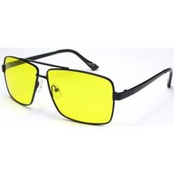Очки для водителей 8712 желтые / черные