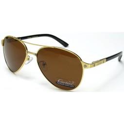 Солнцезащитные очки Cartier 8200588 золото/коричневые