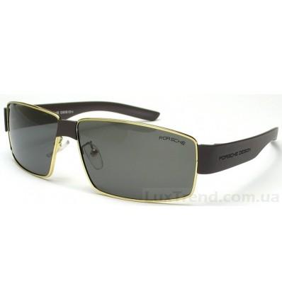 Солнцезащитные очки PORSCHE DESIGN 8529 золото / серые