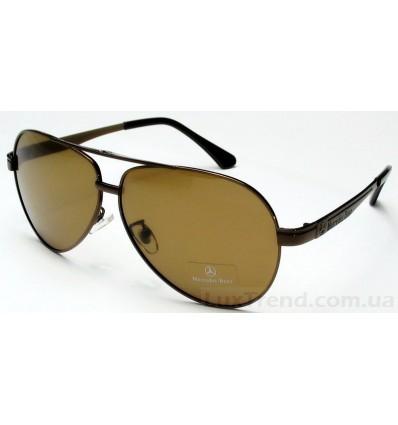 Солнцезащитные очки Mercedes-Benz 737 коричневые