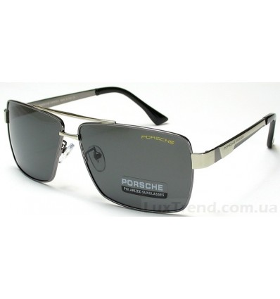 Солнцезащитные очки PORSCHE DESIGN 8712 серые с хромом