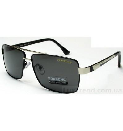 Солнцезащитные очки PORSCHE DESIGN 8712 черные с хромом