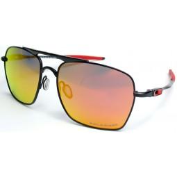 Солнцезащитные очки Oakley 4061 Deviation красные