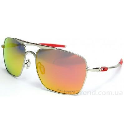 Солнцезащитные очки Oakley 4061 Deviation оранж