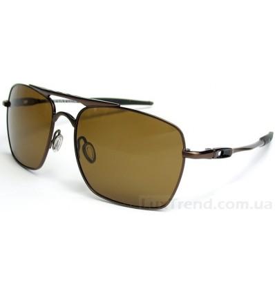 Солнцезащитные очки Oakley 4061 Deviation коричневые