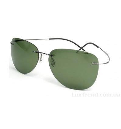 Солнцезащитные очки Silhouette 76123 Titanium серые