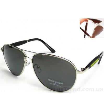 Солнцезащитные очки Armani 0002 Titanium хром