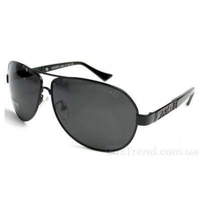 Солнцезащитные очки HERMES 9009 черные