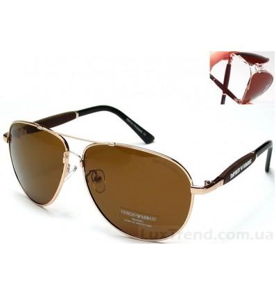 Солнцезащитные очки Armani 0002 Titanium золото