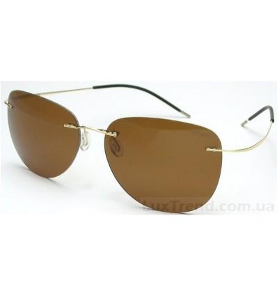 Солнцезащитные очки Silhouette 76123 Titanium золото