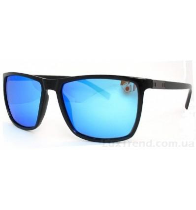 Солнцезащитные очки 3783 зеркальные голубые