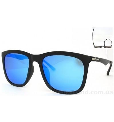 Солнцезащитные очки 2811 TR 90 зеркальные голубые