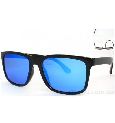 Солнцезащитные очки 5048 TR 90 зеркальные голубые