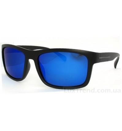 Солнцезащитные очки 1824 зеркальные синие