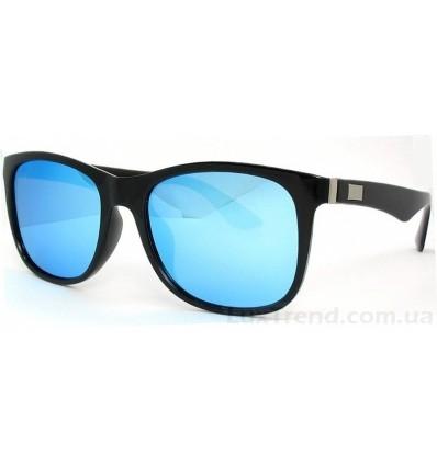 Солнцезащитные очки 539 зеркальные голубые