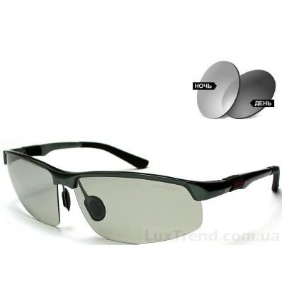 Солнцезащитные очки 3121 Aluminium хамелеоны антифары серые