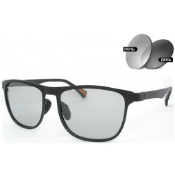 Солнцезащитные очки фотохромные 8586 Aluminium серые