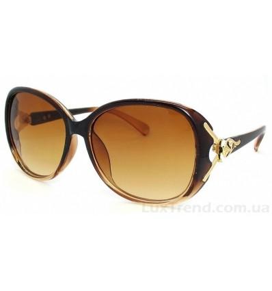 Солнцезащитные очки_8030 коричневые градиент