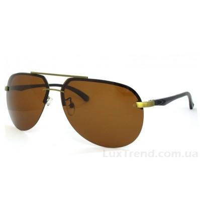 Солнцезащитные очки 6018 Aluminium коричневые
